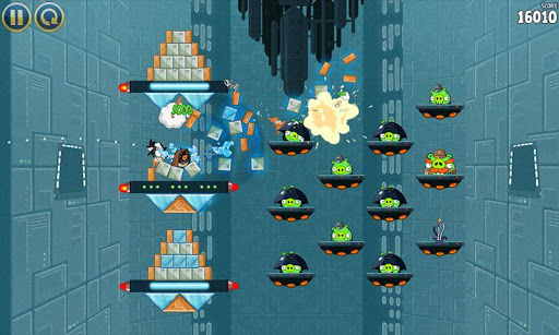Angry Birds Star Wars Game play