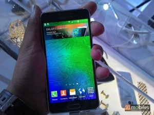 Our first impressions of Samsung's metal clad Galaxy Alpha