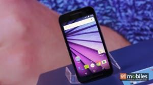 Playing with the third-generation Moto G
