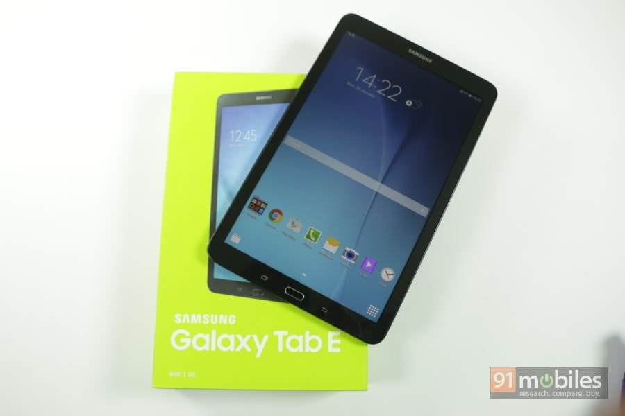 unboxing the samsung galaxy tab e 2015. Black Bedroom Furniture Sets. Home Design Ideas