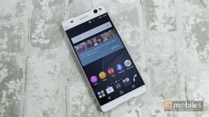 We go hands on with Sony's latest Xperia C5 Ultra