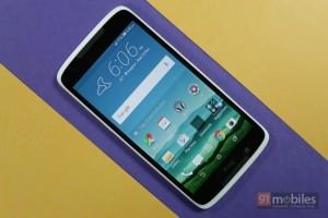 Getting up close and personal with HTC's latest, the Desire 828