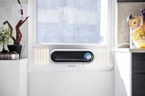 Meet Noria, a smart, small and easy-to-install air conditioner