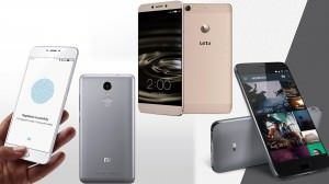 Xiaomi Redmi Note 3 vs Lenovo ZUK Z1 vs LeEco Le 1s Eco vs MEIZU m3 note