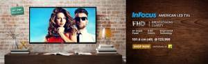 InFocus launches 40-inch full HD LED TV for Rs 23,990