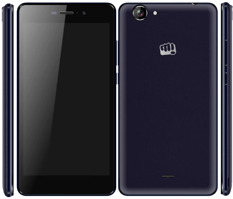 Micromax Canvas Mega E353 design