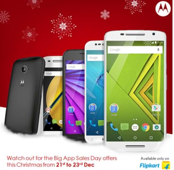 Motorola Flipkart Big App Sales Days