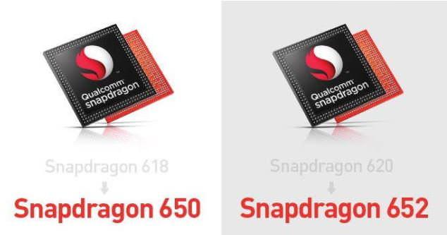 Snapdragon 618 620 renamed