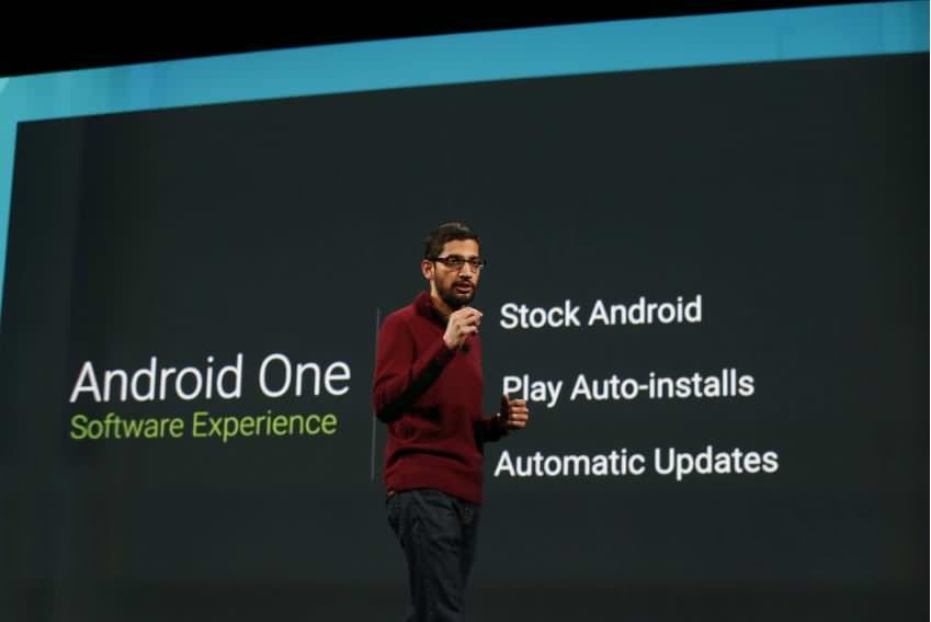 android One sundar pichai