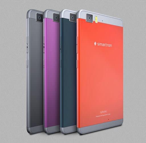 Smartron t.phone colours